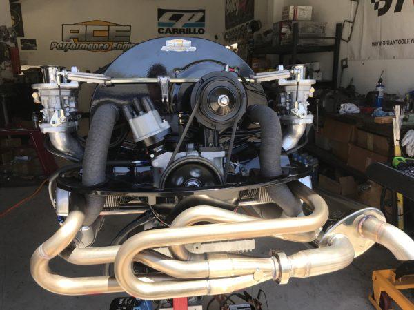 2110cc aircooled vw turnkey engine