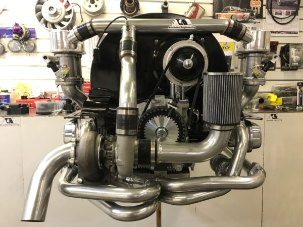 Aircooled vw turbo motor