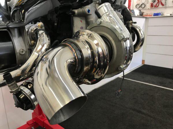 VW Bus turbo engine