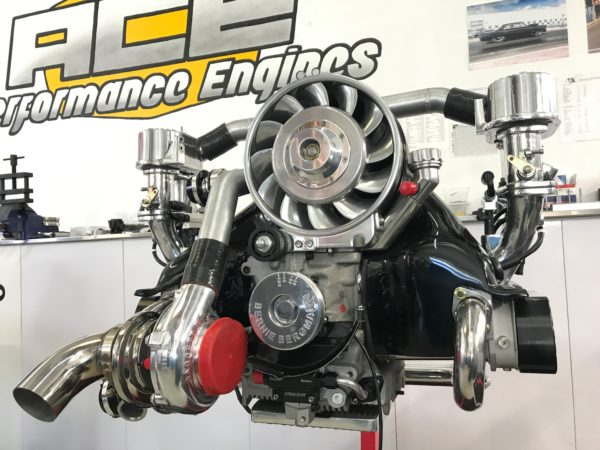 VW Bug turbo engine