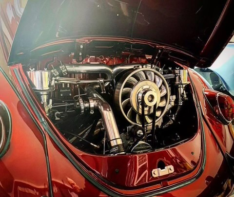 ACE Racing Engines Aircooled VW Turbo engine FuelTech