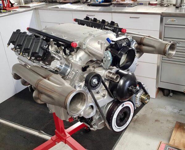 Twin Turbo LS engine
