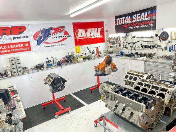 Race engine builder