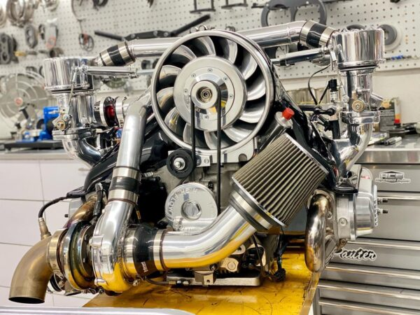 aircooled VW turbo engine